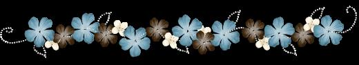 Barre-séparation-fleurs-bleu-gris